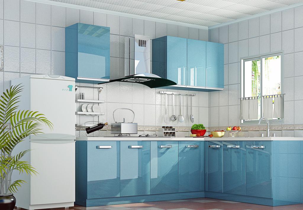 小型户厨房橱柜效果图展示